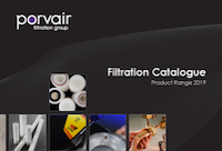 Porvair Catalogue cover