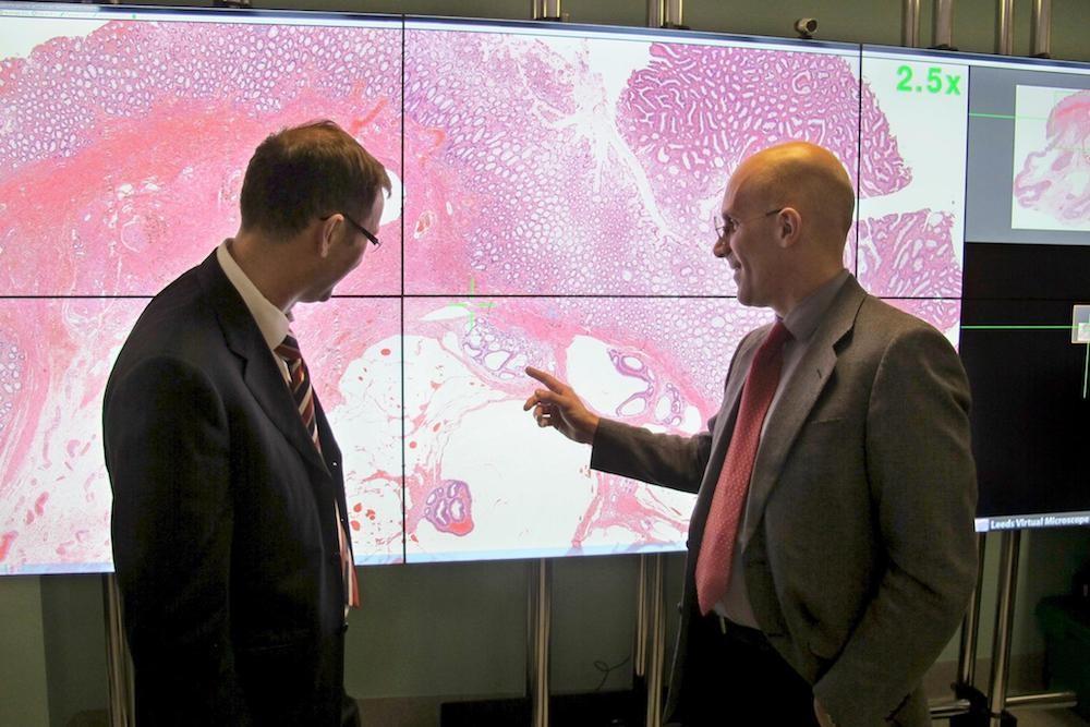 Leeds Teaching Hospitals NHS Trust Pathology Lab to digitally scan