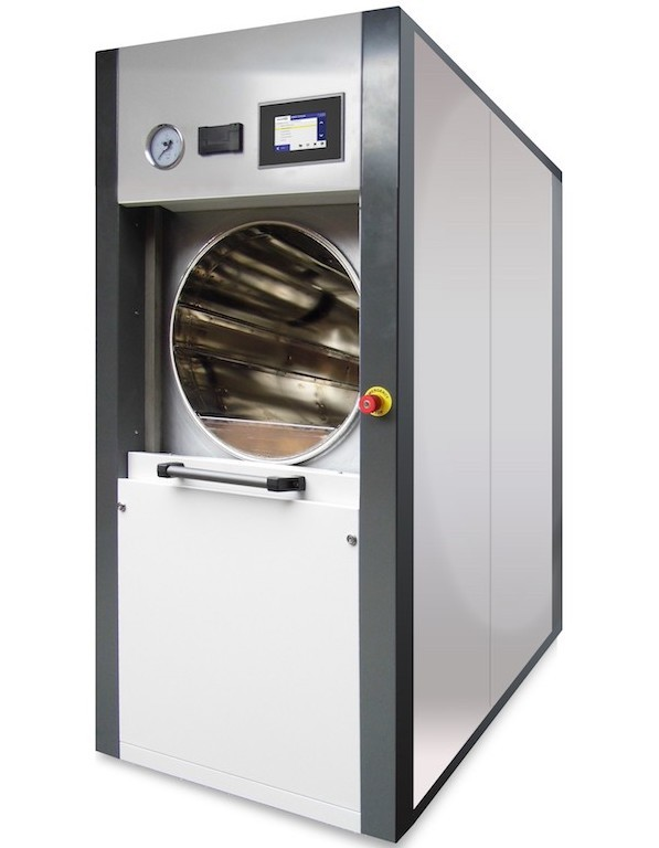 Astell-Scientific-circular-chamber-autoclaves-sliding-door-offer-potential-cost-space-savings