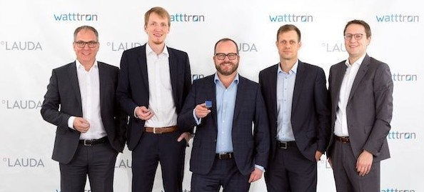 Lauda cooperation with watttron