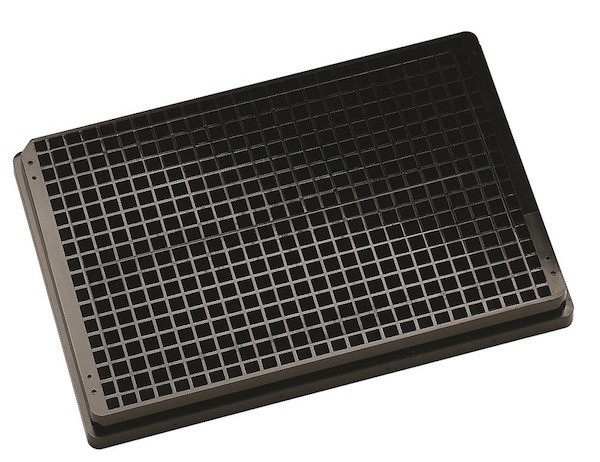 black Krystal UV Quartz bottomed microplates