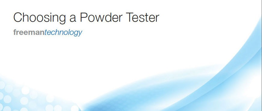 Choosing a Powder Tester
